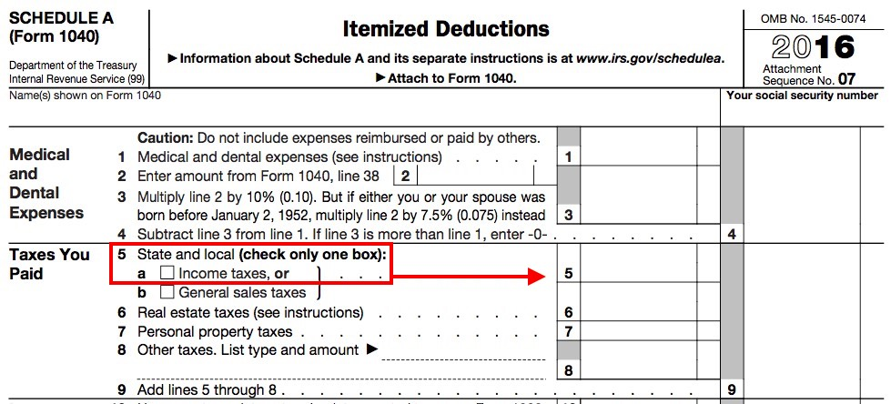 If You Receive A State Tax Refund In The Same Year That Deducted And Local Ta On Your Federal Schedule Line 5a As An Itemized Deduction